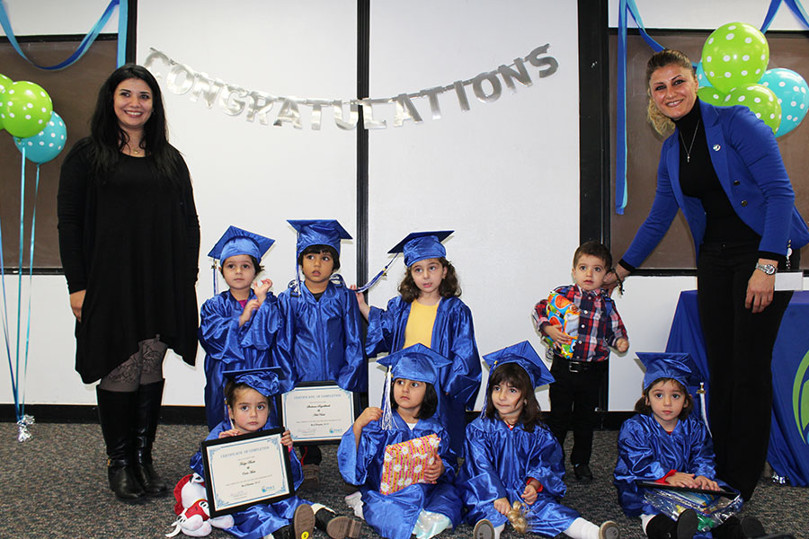 Home Start First 5 First Steps graduates