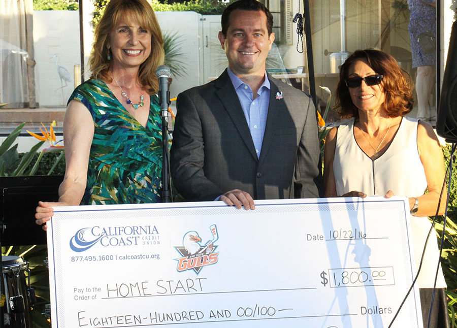 Cal Coast Present Check to Home Start