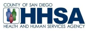 County of San Diego Health and Human Services Logo